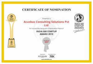 India 500 Startup Awards 2019!